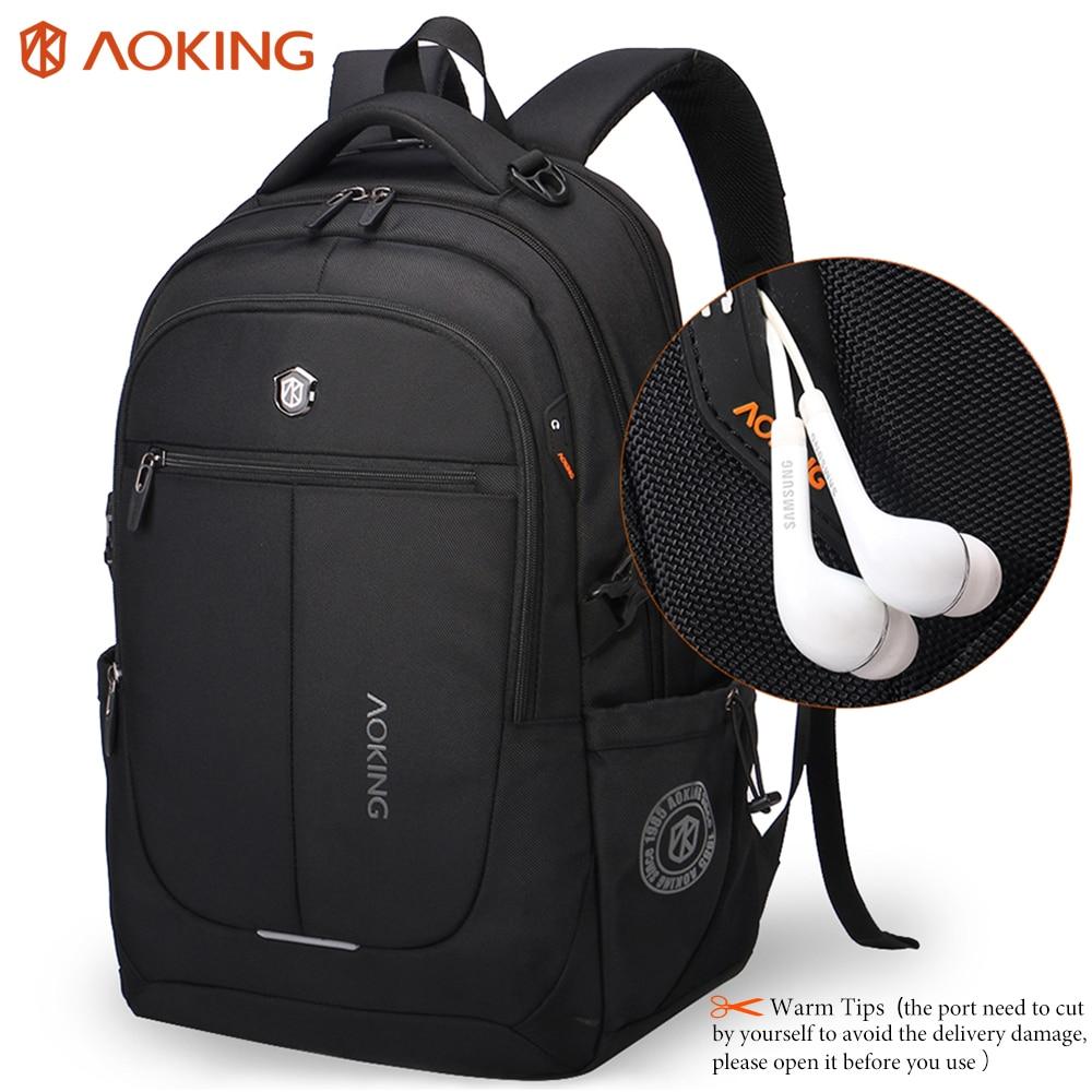 Aoking Brand Men Backpack Light Comfort Fashion Urban Backpack for 15 inch