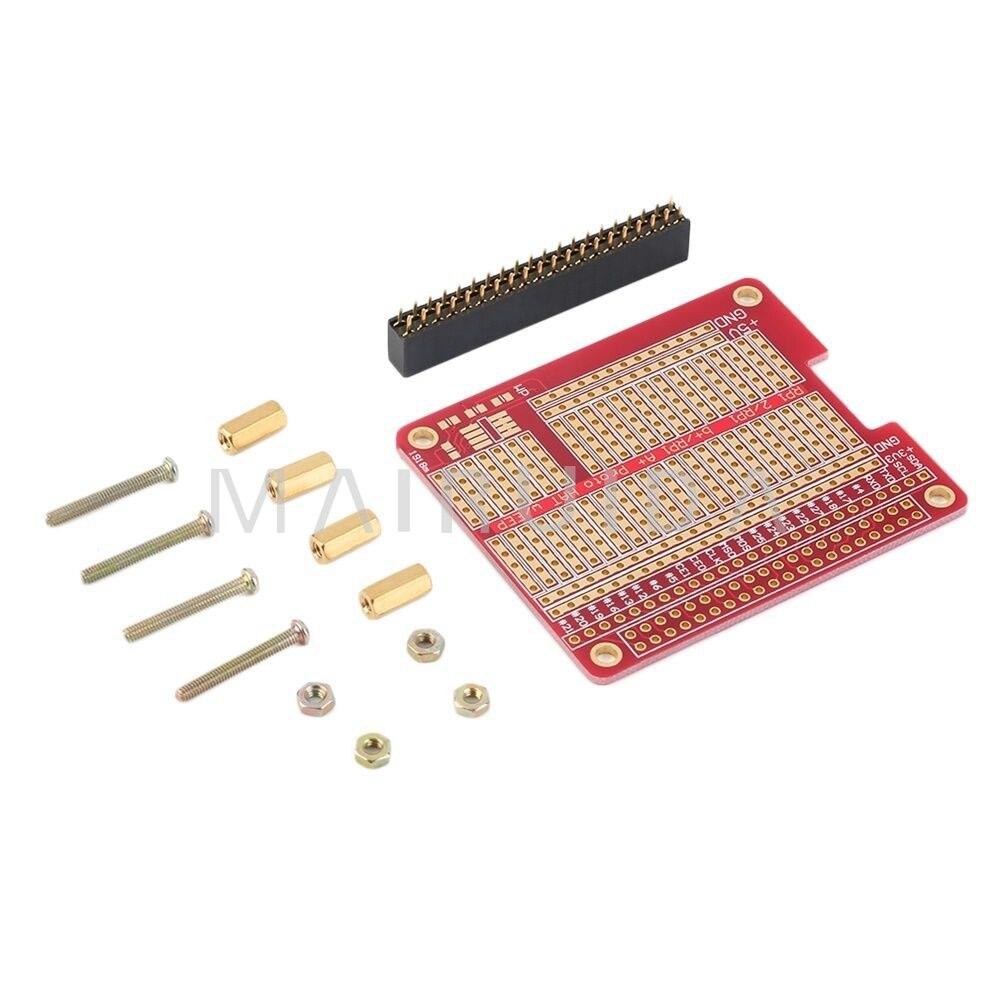 Exclusive HAT Raspberry pie Raspberry Pi 3 expansion board DIY welding kit compatible type B + / A+ Pi kitlee40100quar4210 value kit survivor tyvek expansion mailer quar4210 and lee ultimate stamp dispenser lee40100
