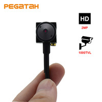 1080P HD Mini AHD Camera 2MP with Sony 322 lens 0.1 lux Low Illumination Audio output Security CCTV Camera 3.7mm lens