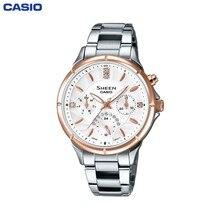 Наручные часы Casio SHE-3047SG-7A женские кварцевые на браслете