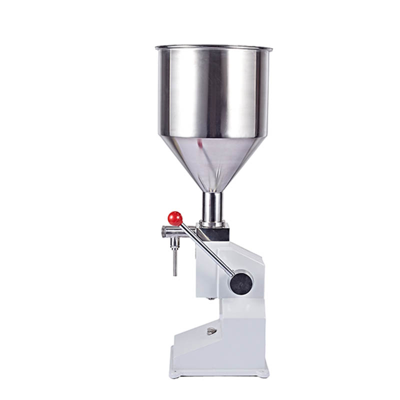 Jamielin Manual Food Filling Machine Small Quantitative Liquid Paste Filler Machines Packaging Equipment 0~50g