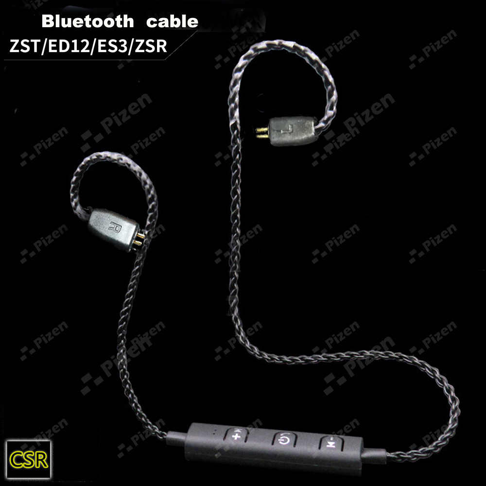 PIZEN BT66 ZST CSR8645 aptx Bluetooth cable for ED12 zs6 ZS5 ZS10 ES4 mmcx For shure SE535 senfer QKZ vk TRN V10 headphones