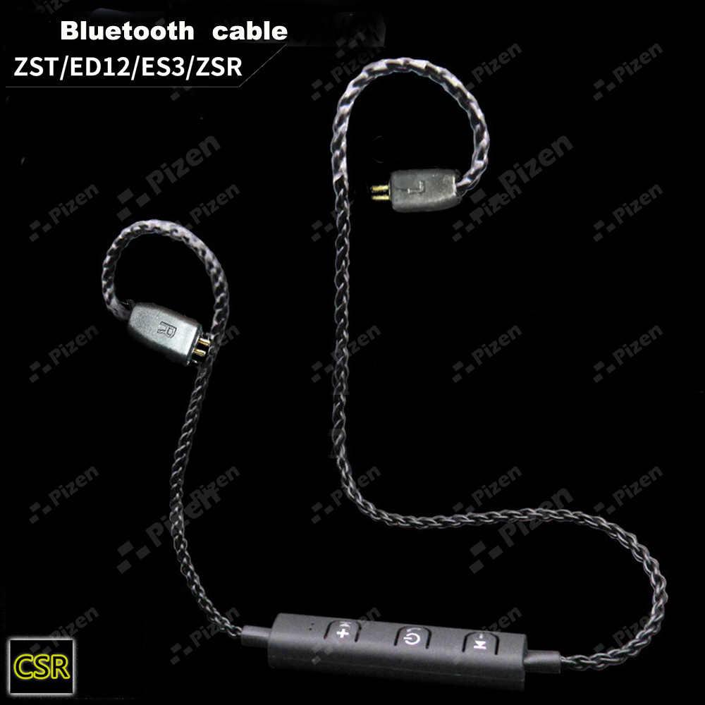 PIZEN BT66 ZST CSR8645 aptx kabel Bluetooth dla ED12 zs6 ZS5 ZS10 ES4 mmcx dla shure SE535 senfer QKZ vk TRN V10 słuchawki