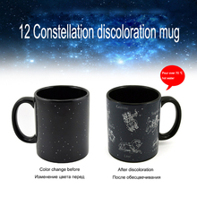 Abay Creative Magic Cup, Thermochromic Coffee Mug, Tea Tik-Tok Latest Trend Ceramic Gift for Young People