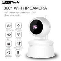 Wireless Home Security IP Camera Baby Monitor 1080P Wifi PTZ IP Camera With P2P IR Night