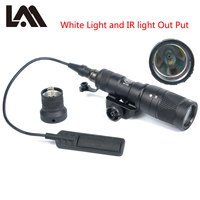 LAMBUL M300V ИК свет тактический инфракрасного ночного видения фонарик военный M300 NV оружейный фонарь с постоянной мгновенный Выход для 20 мм Rail