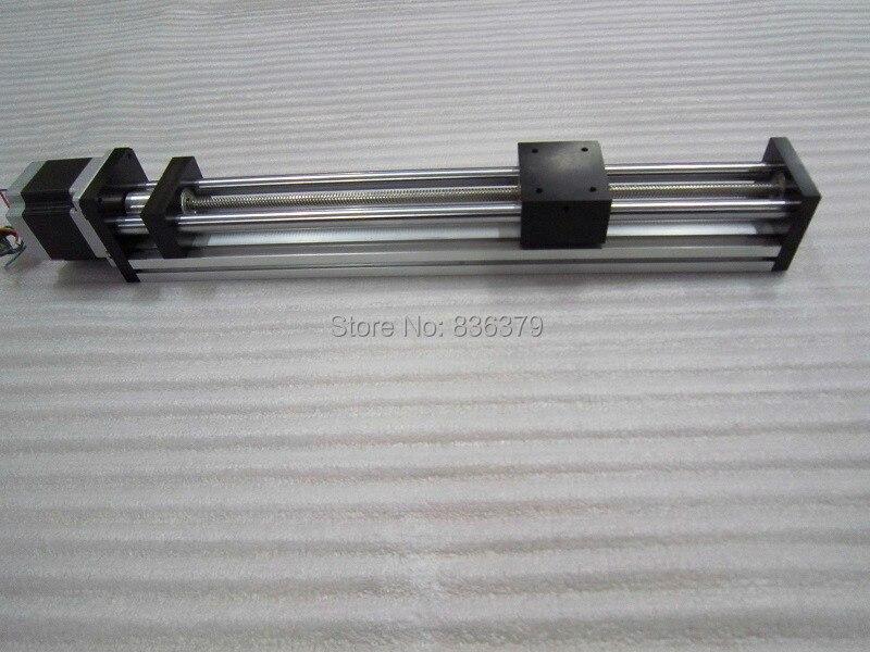 T8 * 2 T-type Screw Linear Slide Stage X Y Z Axis Sliding Table Module Effective Stroke 400mm+ Nema23 Stepper Motor wltoys a959 a969 a979 rc car parts metal upgrade rear hub 2pcs