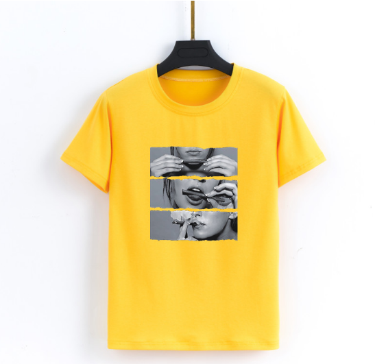 Mr nut new loose short sleeved men and women couple T shirt street fashion Harajuku style street hip hop T shirt in T Shirts from Women 39 s Clothing