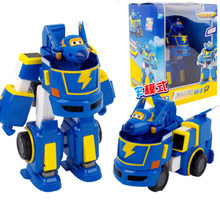 6 styles Super wings Donnie car+airplane Fit robot action figure toys super wing model Transformation robot for Christmas gifts hot robot super wings toy deformation donnie toolbox airplane robot action figures super wing transformation tool box toy gift