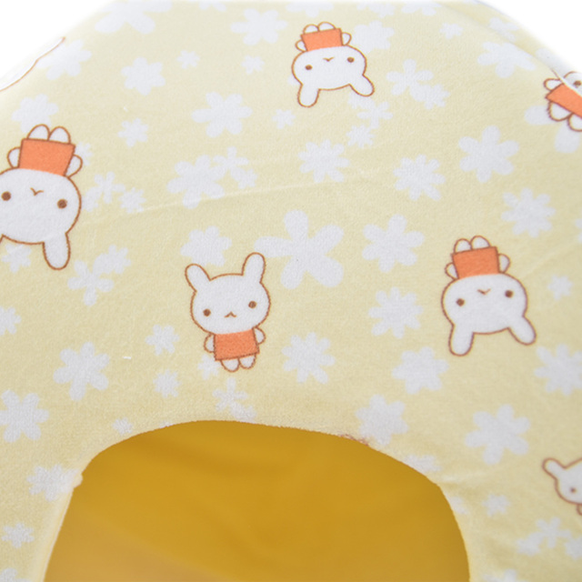 Winter Warm Fleece Guinea Pig Hamster House Bed Small animal Hedgehog Chinchilla Hamster Bed House Cage Nest Hamster Accessories
