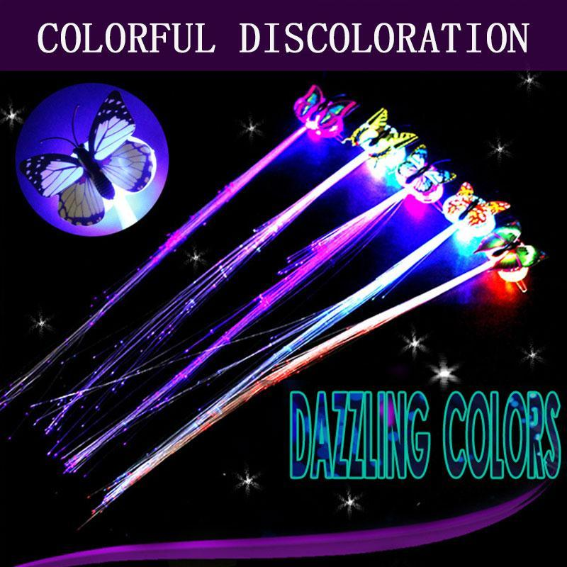 LED Flashing Hair Braids 2