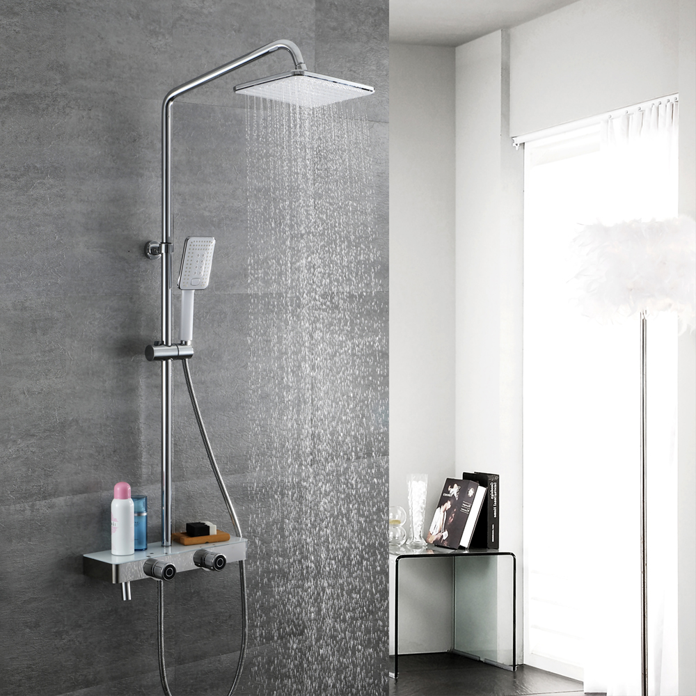 Aliexpress.com : Buy HIDEEP Bathroom Rainfall Chrome ...