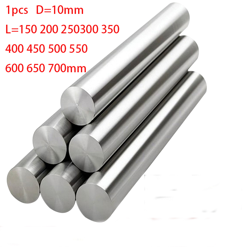 Dia 6mm Shaft Hardened Rod Linear Motion CNC Steel Guideway Guide For 3D Printe