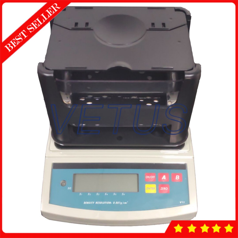 Density Testing Us 935 1 10 Off Density Testing Instrument Dh 1200 Electronic Digital Solids Density Meter With 001 G Cm3 Density Resolution Densitometer In