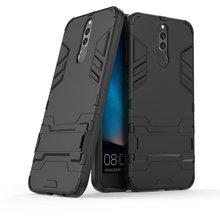 Dla Huawei Mate 10 Lite RNE-L01 RNE-L21 odporny na wstrząsy stojak twardy futerał dla Huawei Nova 2i Combo pancerz powłoki żelaza człowiek tylna okładka tanie tanio wierss Aneks Skrzynki Kickstand Other Anti-knock