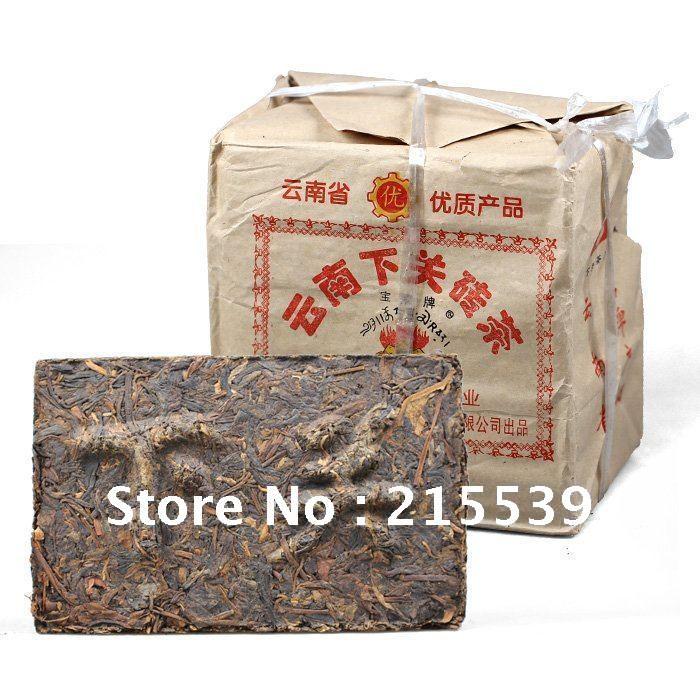 [GRANDNESS] 2004 yr XiaGuan Tuocha Group Old Raw Pu er Puer Brick,Aged Yunnan Pu-erh Tea,250g Pu'Er,Chinese Diet Tea