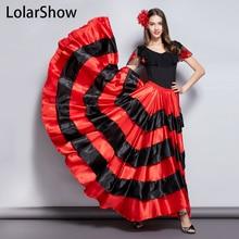 Юбка для фламенко Классический женский костюм для испанских танцев цыгане платье для фламенко