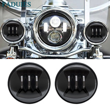 """FADUIES Super bright 40W Led motorcycle headlight 4 1/2"""" 4.5 inch led Fog spot light special For Harley motorcycle Fog Light"""