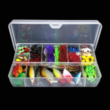Fishing Lure Set 141pcs Artificial Bait Plastic Lures Minnow Popper Pencil Crank Sea Ice Saltwater Freshwater Crankbaits Lures стоимость