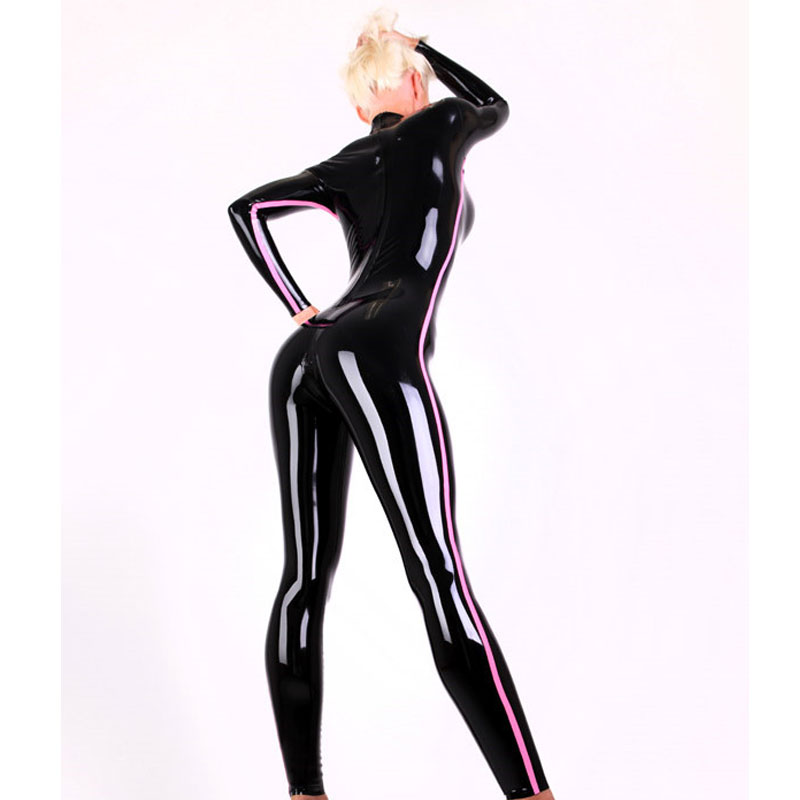 Intelligent 100% Latex Rubber Gummi 0.45mm Stockings Leggings Suit Catsuit Mixed Intimate Items