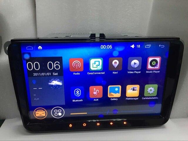 9 inch Screen Android 7.1 Car GPS Navigation Radio System Stereo Media for Volkswagen VW Magotan Passat Golf Caddy Sagitar Polo