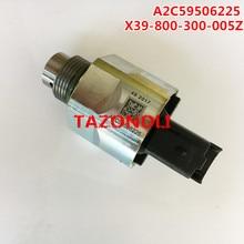 حقيقية و جديد A2C59506225 السكك الحديدية المشتركة pessure التحكم صمام X39 800 300 005Z/X39800300005Z
