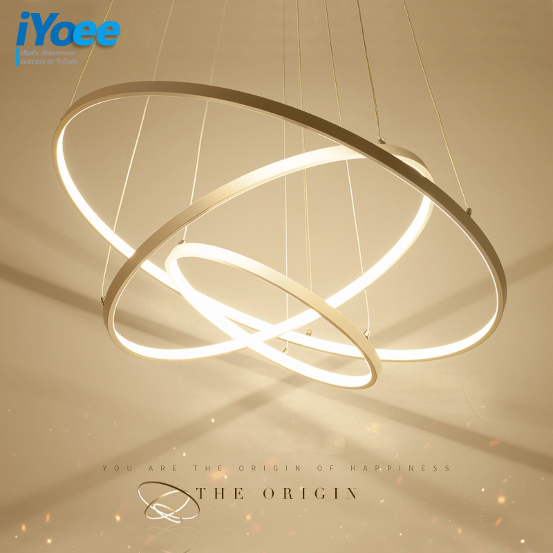 Modern Led Chandelier Ring Lustre Lighting With Remote Control Aluminum Lamps For Dinning Room Bedroom Restaurant Avize Fixtures magic home закладка для книг корона принц