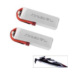업그레이드 된 rc lipo 배터리 ft012s feilun ft012 rc 보트에 대 한 11.1 v 3400 mah 30 c 3 s 교체 리튬 포 배터리