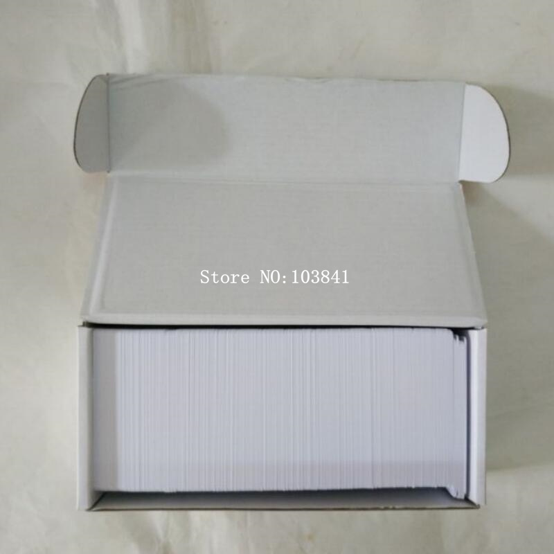 230pcs/lot Glossy Inkjet Printable PVC ID Card for Epson T50 P50 A50 R290 R230 For Canon inkjet Printer Blank PVC Card 20pcs lot double direct printable pvc smart rfid ic blank white card with s50 chip for epson canon inkjet printer
