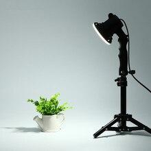 CY 1 шт. стрелять фото лампа Светодиодная лампа Фотография Студия лампа портрет софтбокс заполняющий свет лампочка и 37 см Свет Стенд