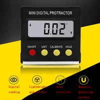 360 grad Mini Digital Winkelmesser Neigungs Elektronische Level Digitale Display Winkelmesser Magnetische Basis Messung Werkzeug