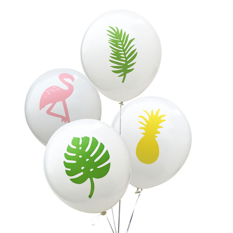 12Inch Flamingo Event Party Balloons Birthday Party Decorations Kids Baby Shower Party Deco Wedding Festival Decoracion Balloon in Ballons Accessories from Home Garden