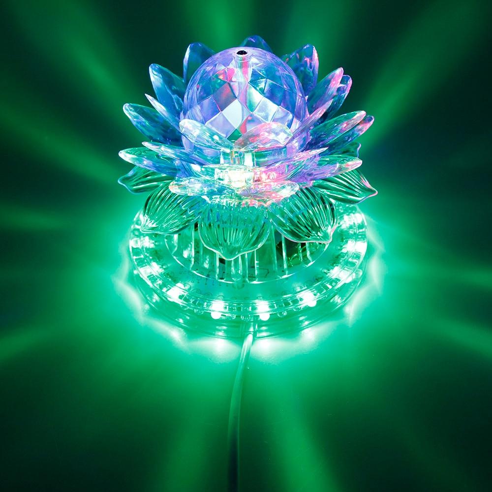 Disco RGB Led Stage Light Auto Rotating Ball Lamp Effect Magic Party Club Lights For Christmas Home KTV Xmas Wedding Show Pub