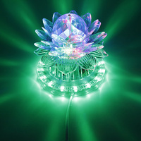 Disco RGB Led Stage Light Auto Rotating Ball Lamp Effect Magic Party Club Lights For Christmas