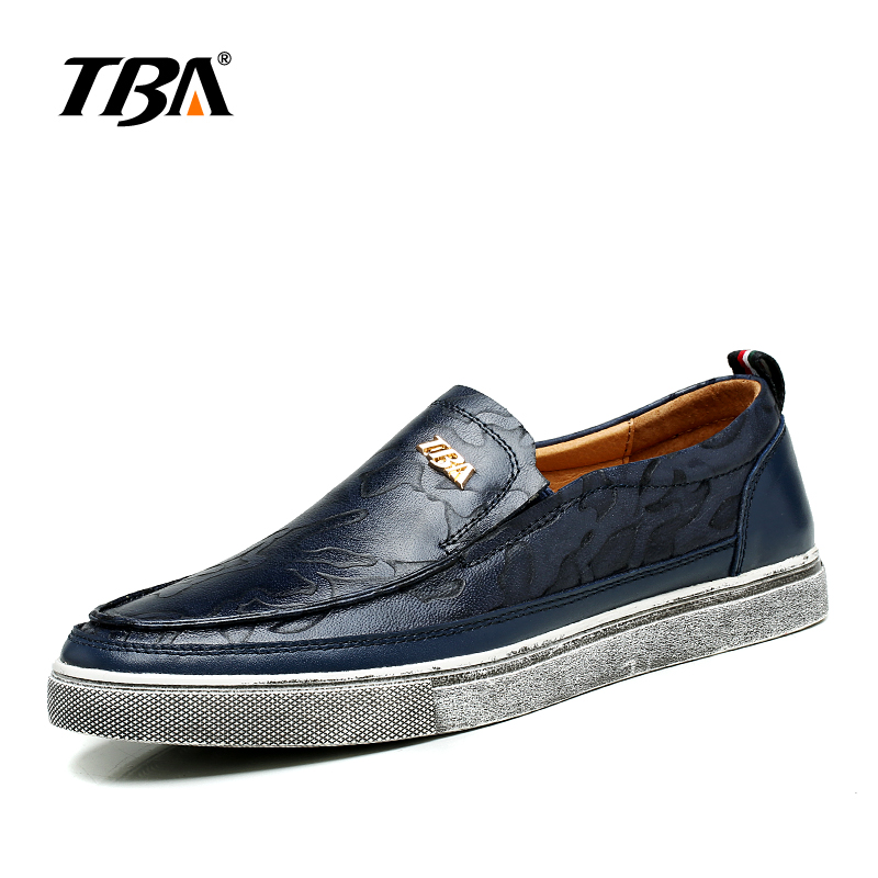 2017 TBA 5831 New Breathable Outdoor Retro Skateboarding Shoes British Style Confortable Male Walking Flats Free