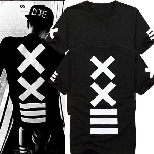 2019 Camisetas Hombre футболки модные hba Футболка Мужская Хип-Хоп Уличная рок футболка рубашка с принтом банданы графический принт Swag