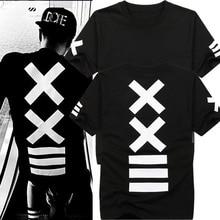2019 Camisetas hombre T-shirts Fashion hba Hip Hop T shirt Men's Streetwear Rock Tee shirt Bandana P