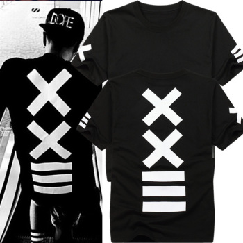 hombre tshirt mens fashion black and white
