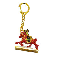 2017 New Feng Shui Red Victory Horse Keychain W2392