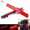 2Pcs Red Lens LED Rear Bumper Reflector Tail Brake Stop Light for LR3 LR4 Range Rover Sport