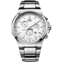 Casio watch Casual Business Waterproof Quartz Men's Table Three-Eye Steel Men's Watch EFR-500D-7A