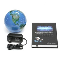 Innovative 3 inch Book Magnetic Levitation Floating Anti Gravity Globe World Map Magnetic Rotating Globe Discoloration