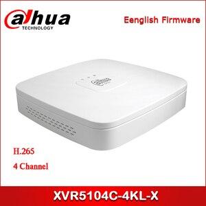 Dahua XVR XVR5104C-4KL-X 4-канальный Penta-brid 4K Smart 1U Цифровой видеорегистратор поддерживает HDCVI/AHD/TVI/CVBS/IP видеовходы