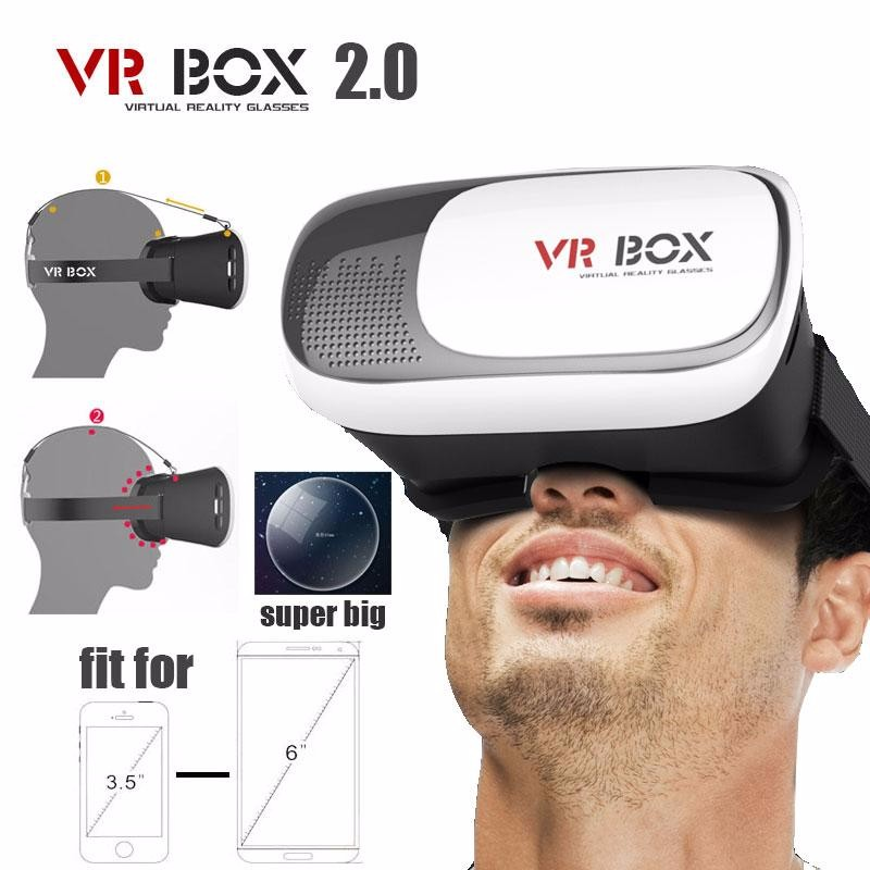 <font><b>VR</b></font> <font><b>BOX</b></font> 2.0 II <font><b>Google</b></font> 3D Glass Glasses/ <font><b>VR</b></font> Glasses Virtual Reality <font><b>Case</b></font> <font><b>Cardboard</b></font> Headset Helmet For Mobile Phone iPhone 7 6 6s 5
