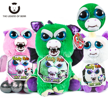 Toys 2019 New Feisty Pets Roaring Angry Toy Children Gift Change Face Stuffed Animal Doll Plush For Kids Cute Prank toy