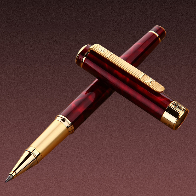 High quality Picasso 902 brand Wine red roller ball pen stationery school office supplies Luxury writing business gift ball pens|Gel Pens| |  - title=