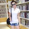 Summer  T-shirt Women Brand Female Cotton Short Sleeved Tops Womens Fashion Clothing YLM5533