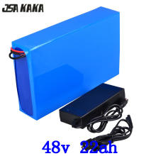 48V 1000W lithium battery pack 48v 22ah electric bike battery 48V 22AH lithium ion battery with 30A BMS and 54.6V 2A charger