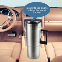 Car Electric Cup 12v Portable Car Hot Cup Insulation Pot For The Family Car RV Truck