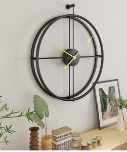 Image 3 - 80CM Large Wall Clock Modern Design Clocks For Home Decor Office European Style Hanging Wall Watch Clocks